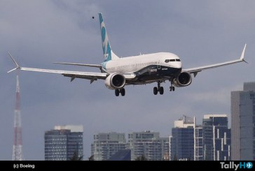 Boeing 737 MAX 9 realizó su primer vuelo