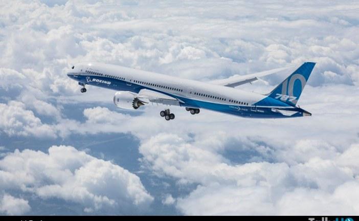 Boeing 787-10 Dreamliner realizó su primer vuelo