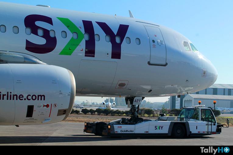 SKY anuncia suspensión temporal de todas sus operaciones entre el 25 de marzo y 30 de abril de 2020