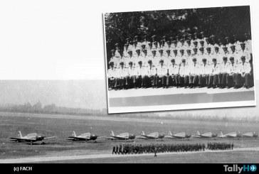 """75 años del ingreso del """"primer curso de cadetes"""" a la Escuela de Aviación Capitán Manuel Ávalos Prado"""