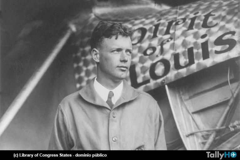 La hazaña de Charles Lindbergh hace 90 años
