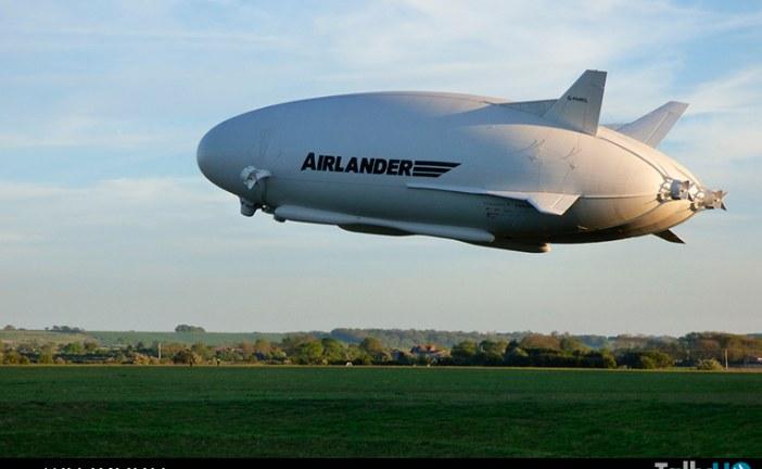 Airlander retornó a los cielos