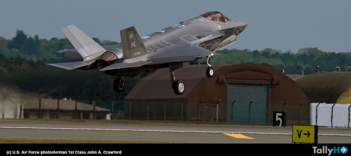 Aviones F-35A Lighting II de EE.UU. completan primer despliegue operativo a Europa