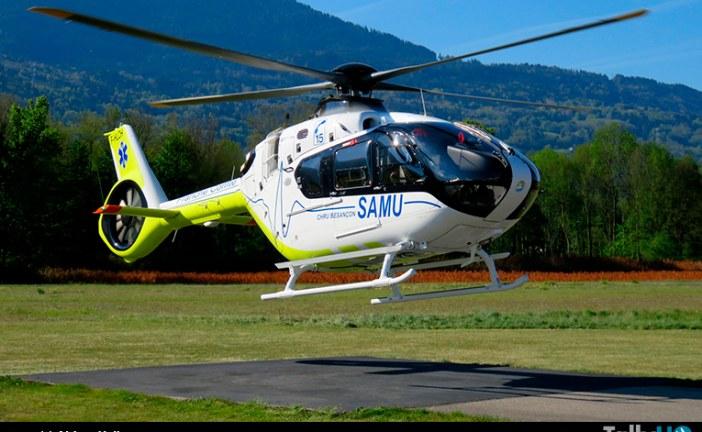 En plena operación se encuentra la primera flota de H135 para servicio de emergencias en Francia