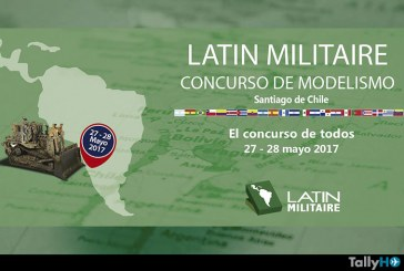 Se viene Latinmilitaire el evento de modelismo más importante del año en Chile