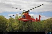 Primer vuelo de un K-MAX de la recientemente reabierta línea de producción de Kaman