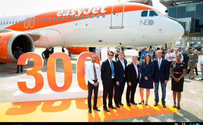 Aerolínea easyJet recibe su primer A320neo de un total de 130