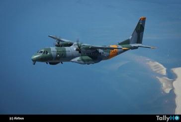 Primer avión Airbus C295 de búsqueda y rescate recibió Brasil