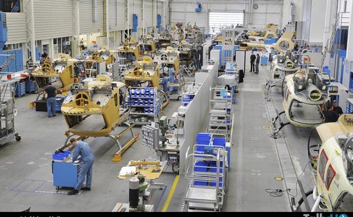 Línea de montaje final de helicópteros comenzó a construir Airbus Helicopters en China