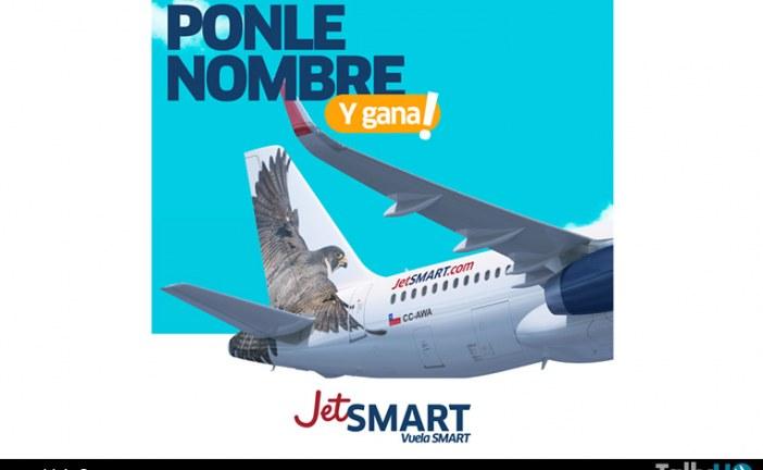 Nueva aerolínea JetSMART lanza concurso para bautizar a su primer avión