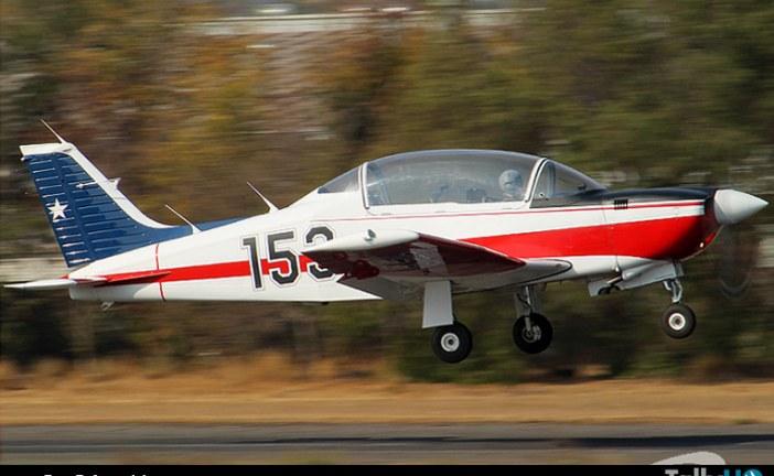 Avión T-35 Pillán se accidenta en Base Aérea El Bosque