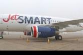 Arribó el primer avión A320 de JetSMART bautizado Akori