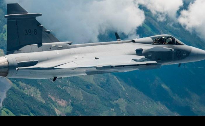 Saab Gripen E realizó su primer vuelo