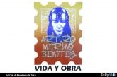 Exposición Vida y Obra de Arturo Merino Benítez en el Mall Plaza Maule