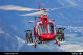 FAA certifica soportes para transporte de bicicletas Aero Design para helicópteros Airbus AS350 Ecureuil