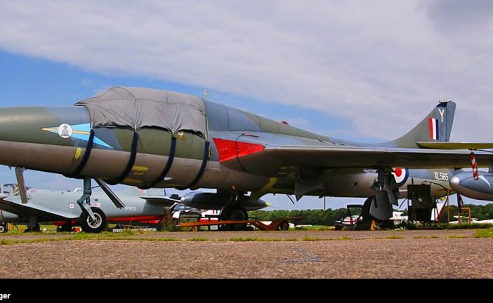 CAA retiró la Directiva de seguridad que puso en tierra todas las aeronaves Hawker Hunter del Reino Unido