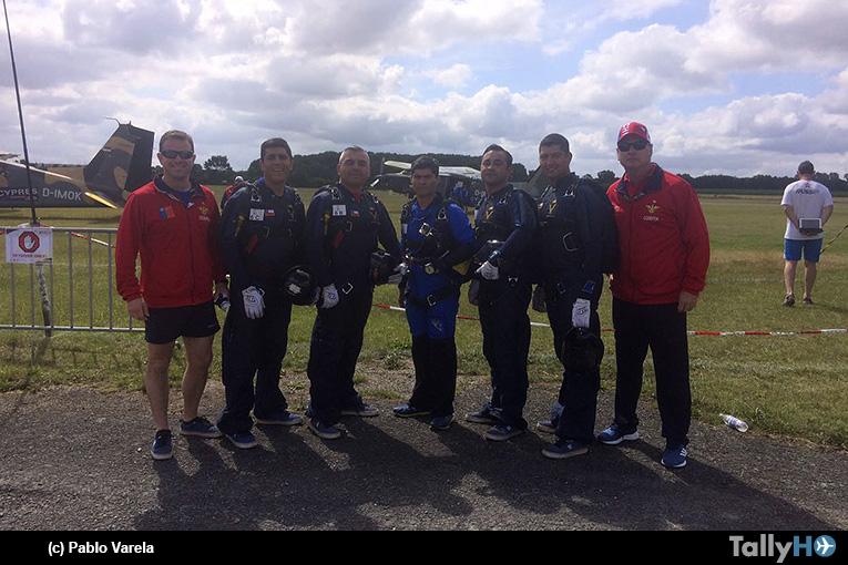 Escuadrilla Boinas Azules participa en el mundial de paracaidismo militar de precisión de Alemania