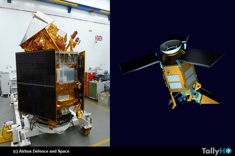 Satélite Sentinel-5 Precursor, construido por Airbus está listo para su lanzamiento