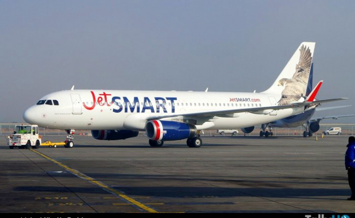Más de 20.000 pasajeros ha transportado JetSmart en su primer mes de operaciones
