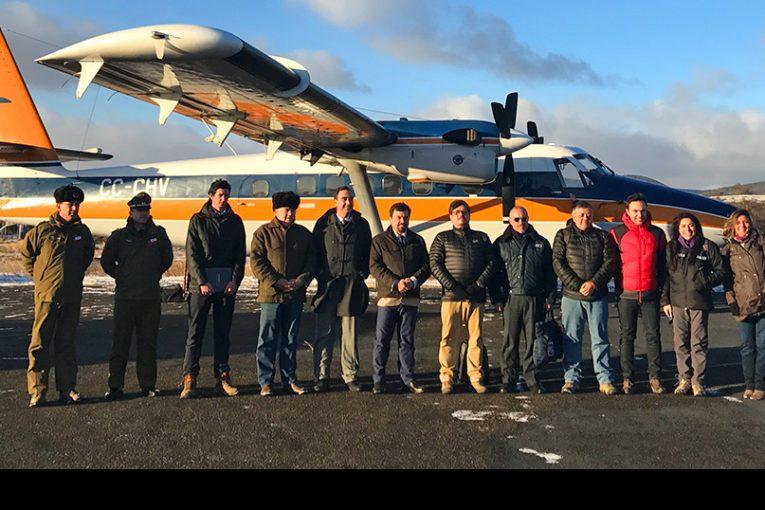Aerovías DAP: Pronta inauguración ruta Punta Arenas – Pampa Guanaco
