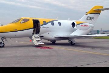 Avión HondaJet visita Chile en el marco de gira mundial en 80 días