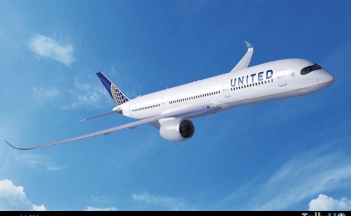 United Airlines aumenta su pedido de A350 XWB a 45 unidades