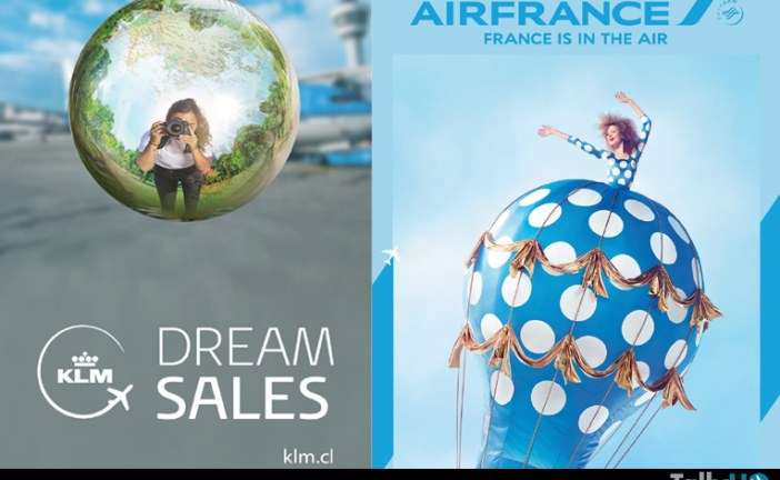Recorra Europa con las nuevas ofertas de Air France y KLM