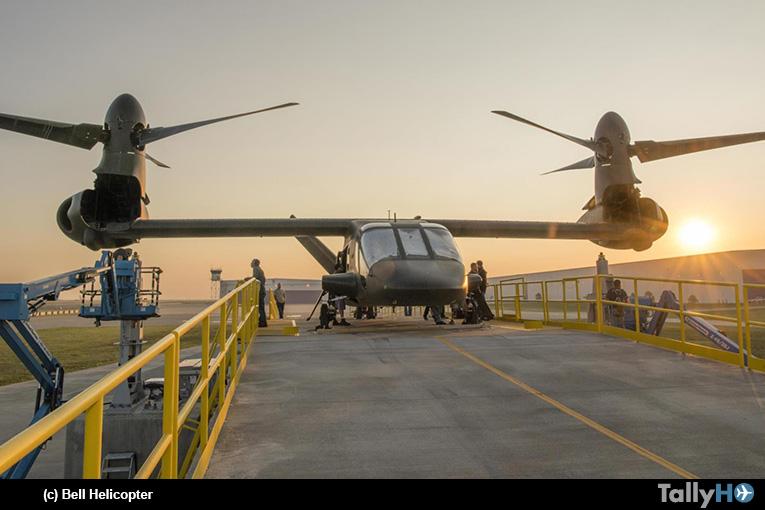 Convertiplano Bell V-280 Valor cada vez más cerca de realizar su primer vuelo
