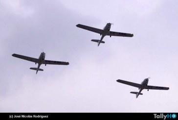 Participación del Club Aéreo de Santiago en el desfile escolar cívico-militar de La Reina