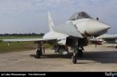 Eurofighter de la Aeronautica Militare se estrella durante show aéreo en Terracina