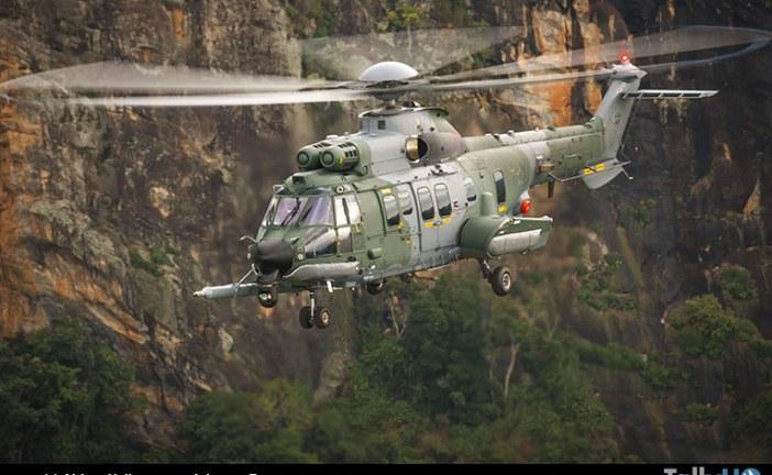 H225M completa 10 mil horas de vuelo en la Fuerza Aérea de Brasil