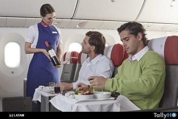 LATAM es reconocido como líder internacional en prestigioso ranking de experiencia a bordo