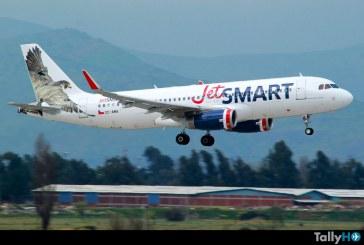 JetSMART lidera ránking sudamericano como la aerolínea con flota de aviones más «jóvenes»
