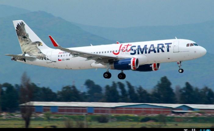 JetSMART expande su operación a Perú con dos vuelos diarios Santiago-Lima