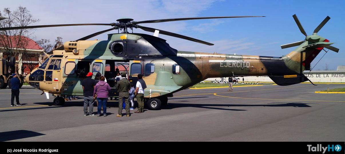 Jornada de Puertas Abiertas en la Brigada de Aviación del Ejército en Rancagua