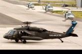 Operaciones de aeronaves FACH en la Parada Militar 2017