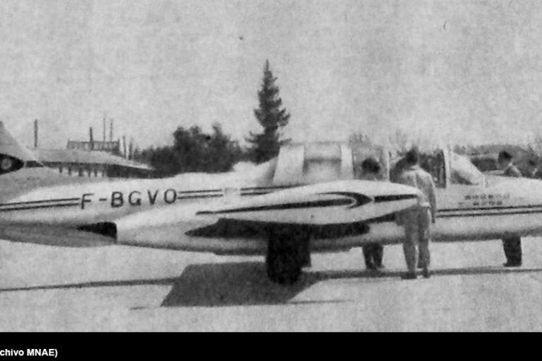 60 años de la visita del Morane Saulnier MS-760 Paris a Chile