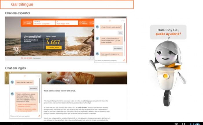 El sistema virtual de atención al cliente de GOL es ahora trilingüe