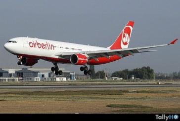 Aerolínea Air Berlin finalizará sus operaciones fines de octubre