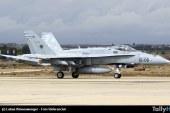 Se estrella avión F-18 Hornet del Ejército del Aire de España en base aérea Torrejón de Ardoz