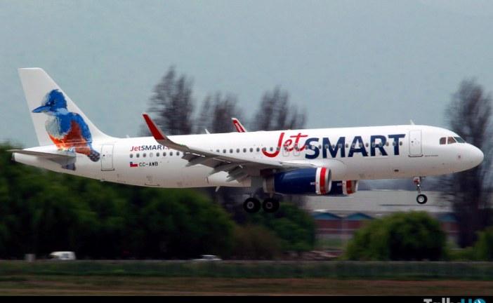JetSMART vuelve con tarifas promocionales para recorrer Chile