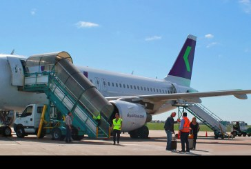 Vuelo inaugural de Sky ruta Santiago – Rosario