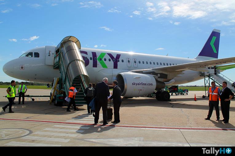 Ranking internacional posiciona a SKY como una de las aerolíneas más puntuales del mundo