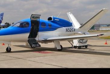 Visita del Cirrus SF-50 Vision Jet a Chile