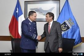 FACH y CONAF firmaron protocolo de cooperación para combate de incendios forestales