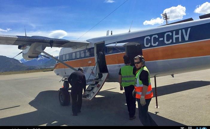 Aervías DAP inició vuelos Punta Arenas – Ushuaia