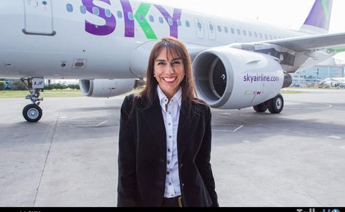 Directora comercial de SKY es reconocida como una de las 100 mujeres líderes 2017