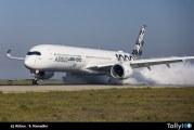 Airbus A350-1000 recibe su certificación tipo de EASA y FAA