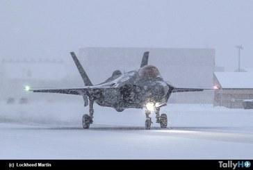 Pruebas en «pista con hielo» del F-35A para certificación de la Real Fuerza Aérea Noruega