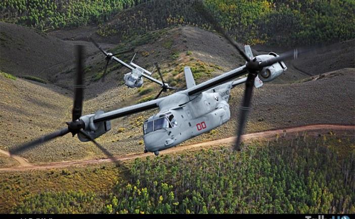 Convertiplanos V-22 Osprey de EE.UU. alcanzan las 400.000 horas de vuelo